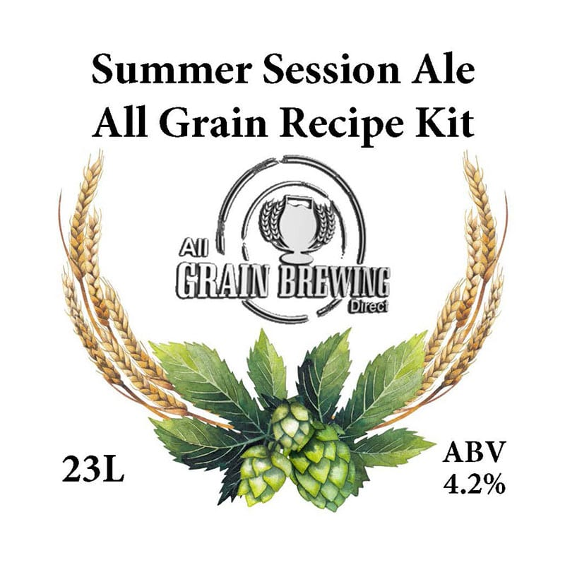 Summer Session Ale All Grain Recipe Kit