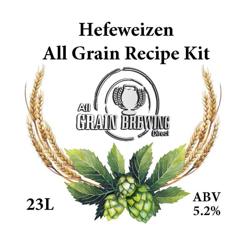 Hefeweizen All Grain Recipe Kit