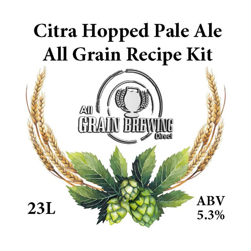 Citra Hopped Pale Ale All Grain Recipe Kit