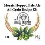 Mosaic Hopped Pale Ale All Grain Recipe Kit