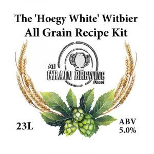 The Hoegy White Witbier All Grain Recipe Kit