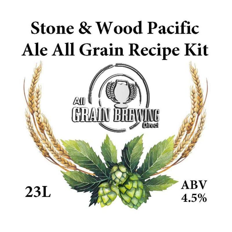 Stone & Wood Pacific Ale All Grain Recipe Kit