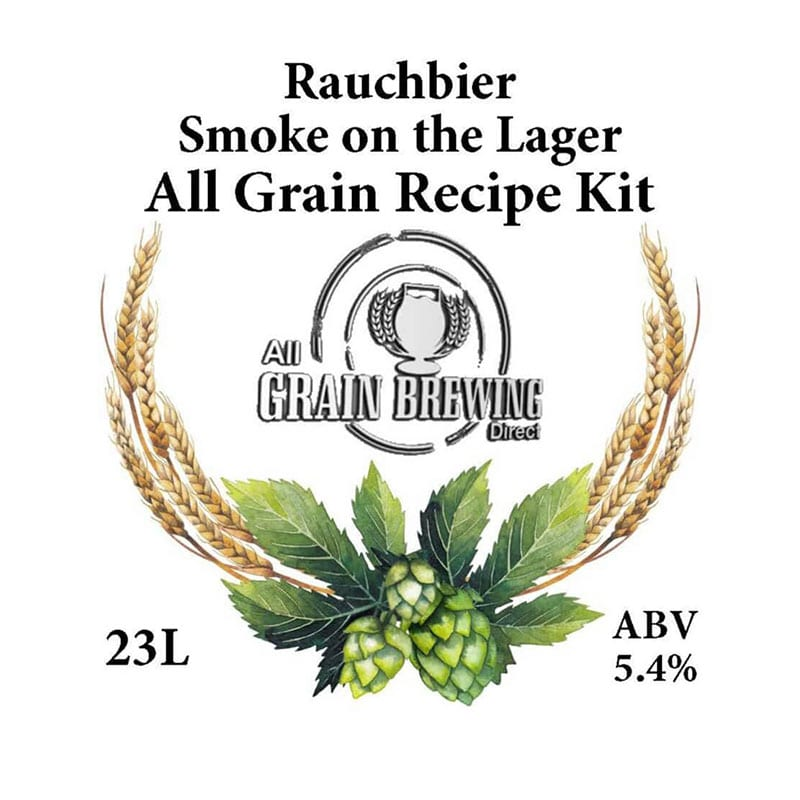 Smoke on the Lager Rauchbier All Grain Recipe Kit