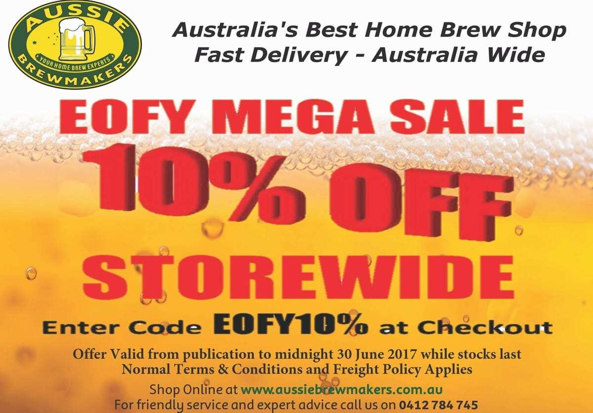 Web Store Specials - June 2017 - 10% off storewide with code EOFY10% 1