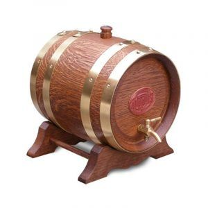 2 Litre Oak Maturation Keg - Teak