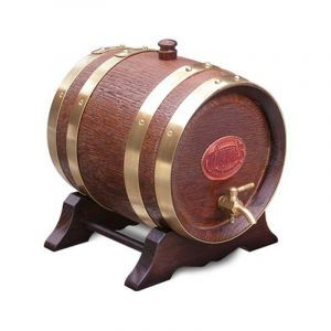 2 Litre Oak Maturation Keg - Walnut