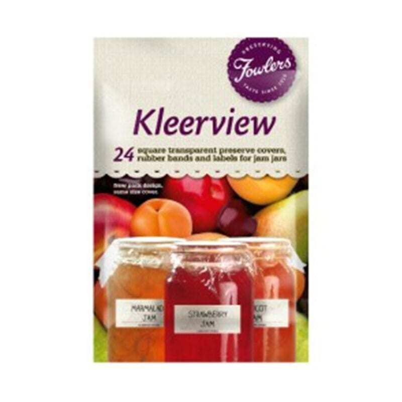 Fowlers Vacola - Kleerview Covers - 24 Pack