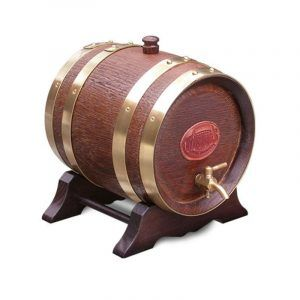 4.5 Litre Oak Maturation Keg - Walnut