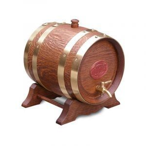 4.5 Litre Oak Maturation Keg - Teak