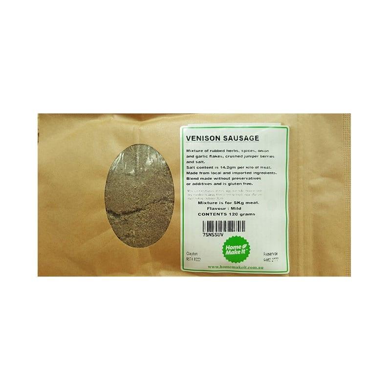 Venison Sausage Spice Pack