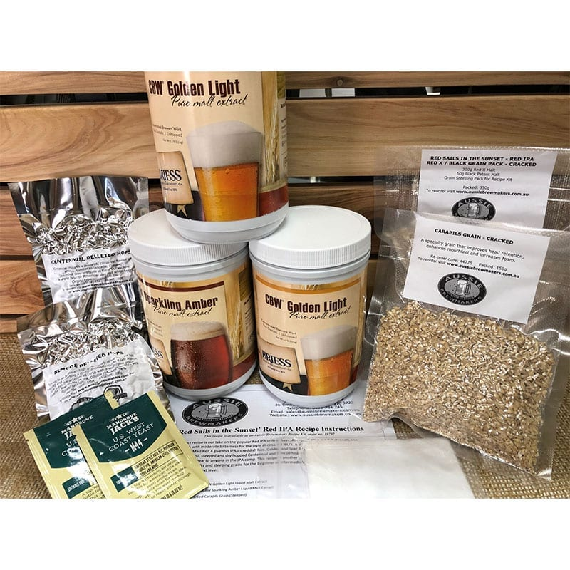 Red Sails in the Sunset - Red IPA Recipe Kit