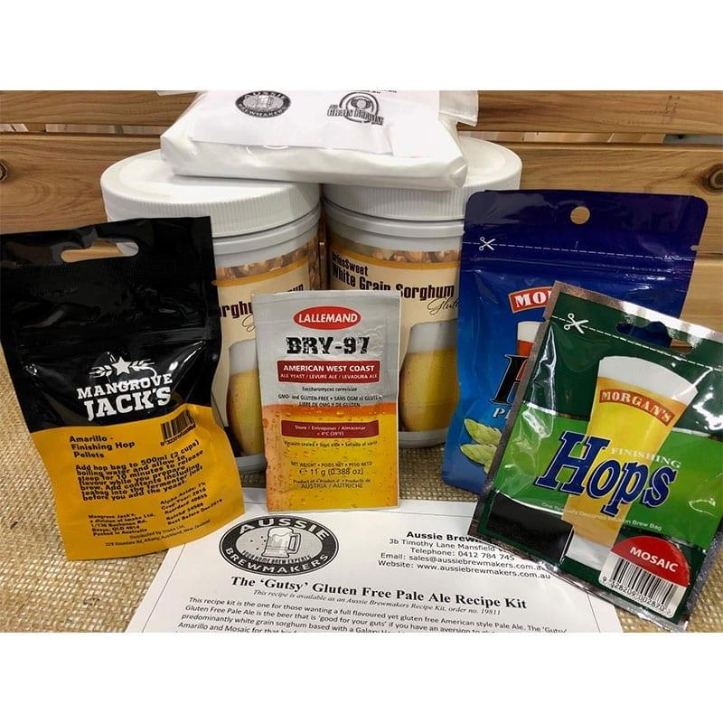 'Gutsy' Gluten Free Pale Ale Recipe Kit