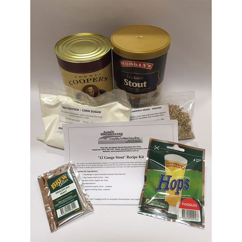 12 Gauge Stout Recipe Kit