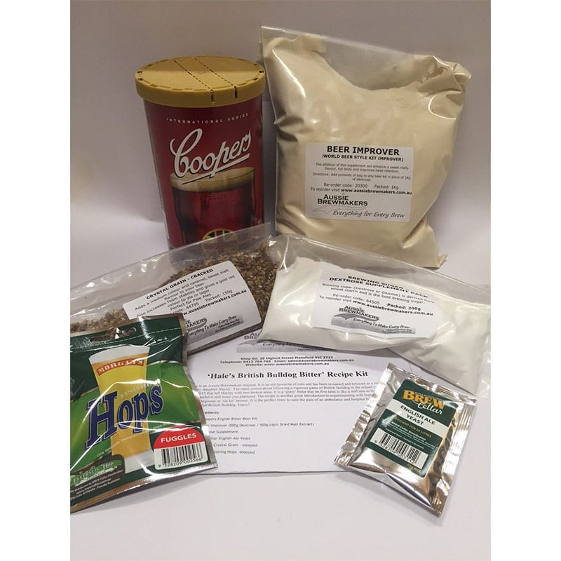Hale's British Bulldog Bitter Recipe Kit