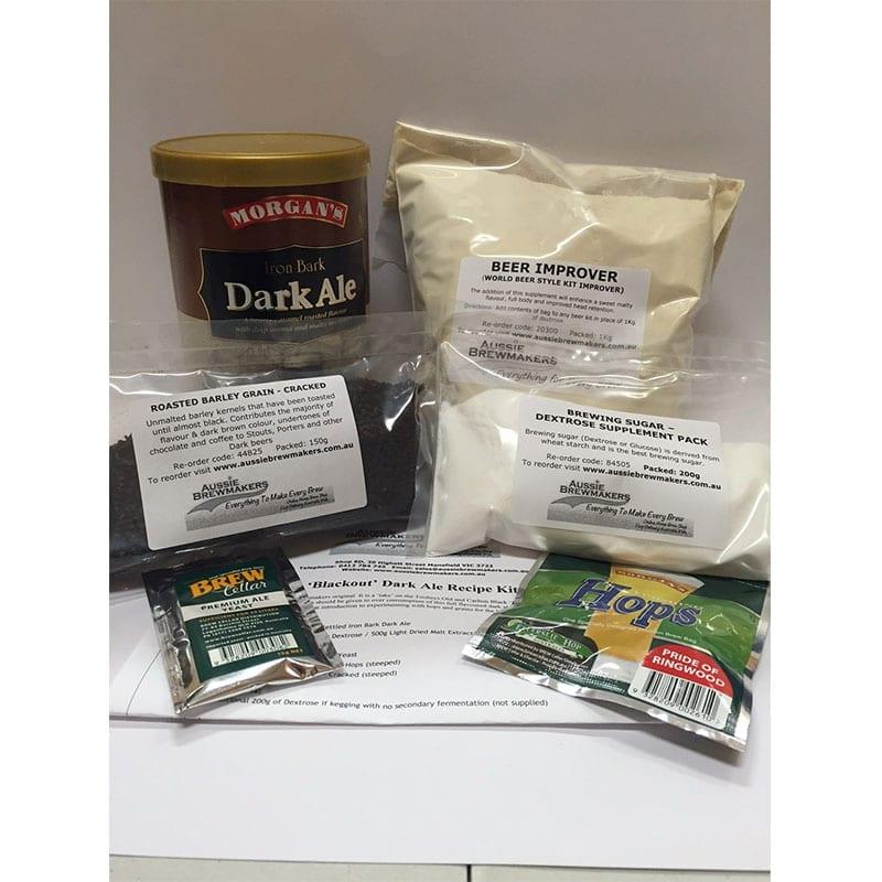 Blackout Dark Ale Recipe Kit