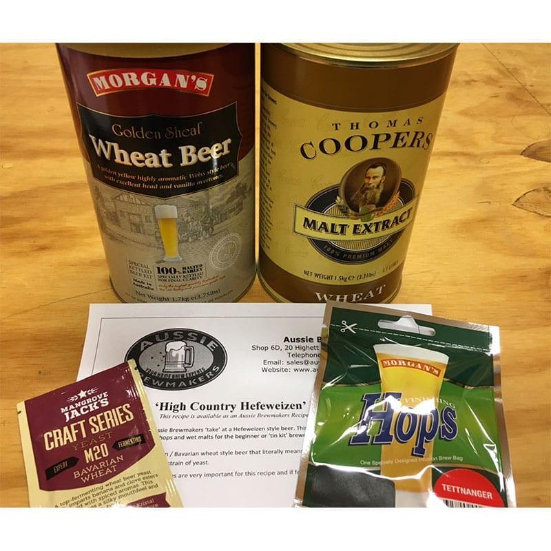 High Country Hefeweizen Recipe Kit