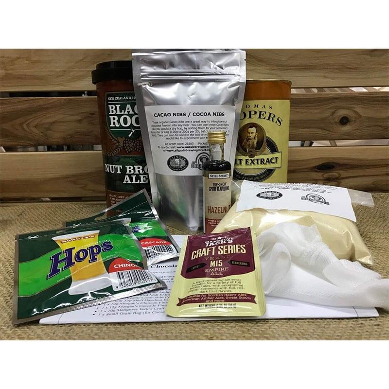 Hazelnut Chocolate Brown Ale Recipe Kit