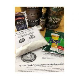Double Chocky' Chocolate Stout Recipe Kit