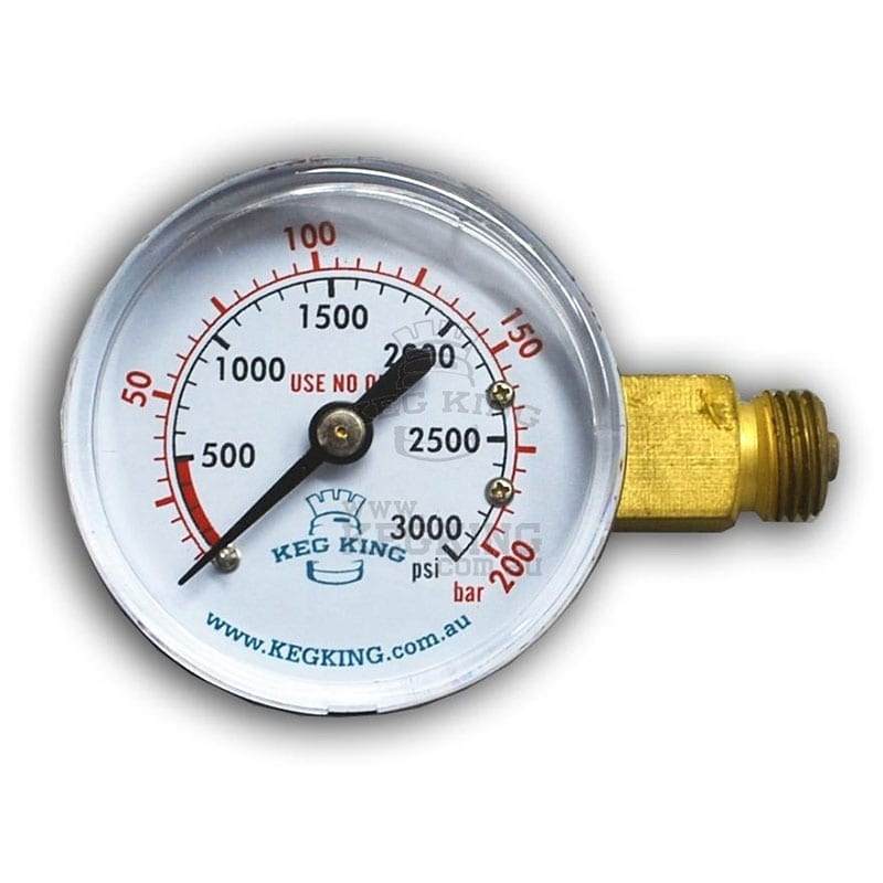 High Pressure Gauge 0-3000psi