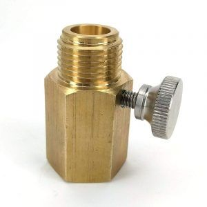 Deluxe Soda Stream Cylinder Adaptor (With Pin Adjustment)