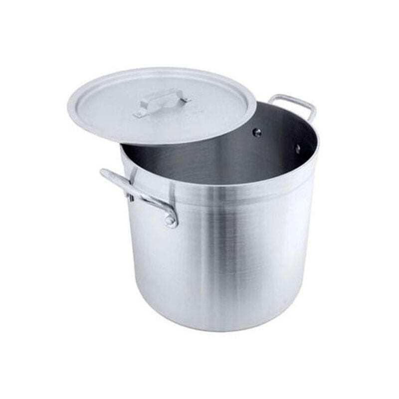 40L Aluminium Stock Pot with Lid