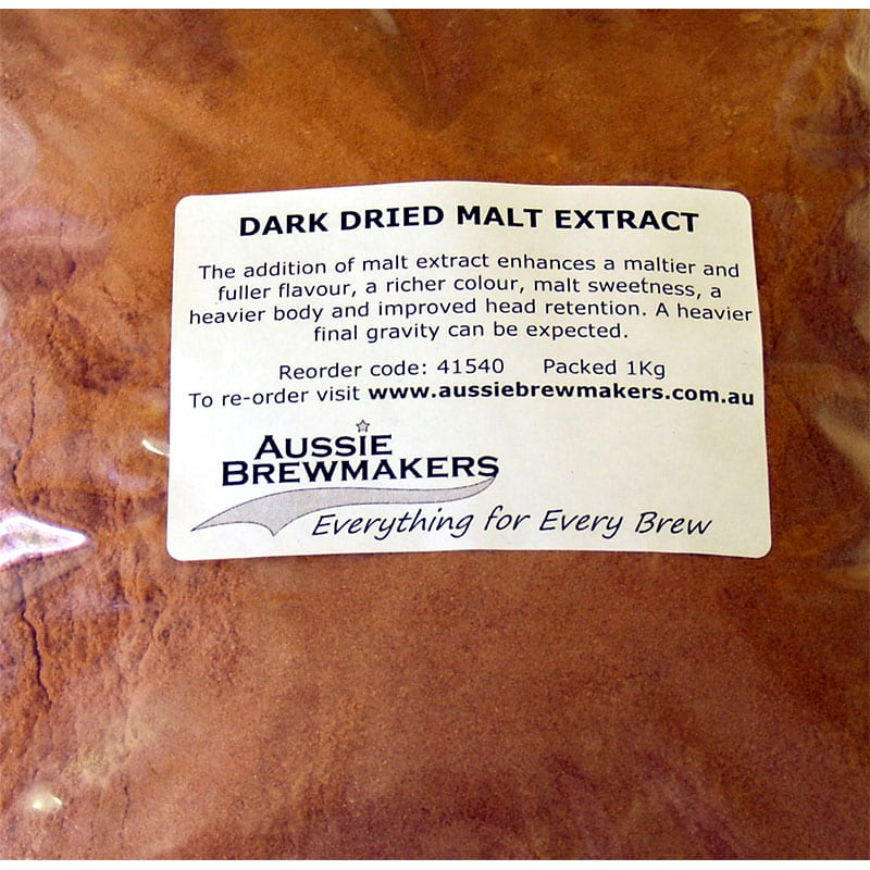 Dark Dried Malt Extract 1Kg
