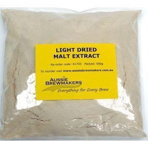 Light Dried Malt Extract 500g