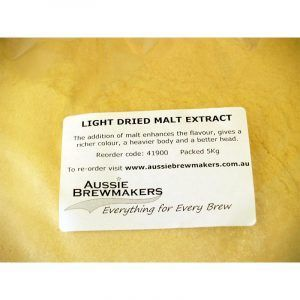 Light Dried Malt Extract 5Kg