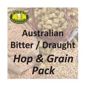 Australian Bitter / Draught Hop & Grain Pack