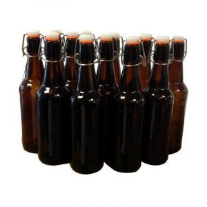 Bottle - Beer 500ml Glass Flip Top 12 Pack