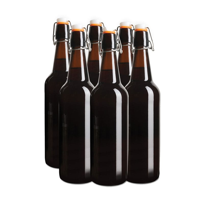 Bottle - Beer 750ml Glass Flip Top 12 Pack