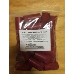 Novatwists - Red - 25 Pack