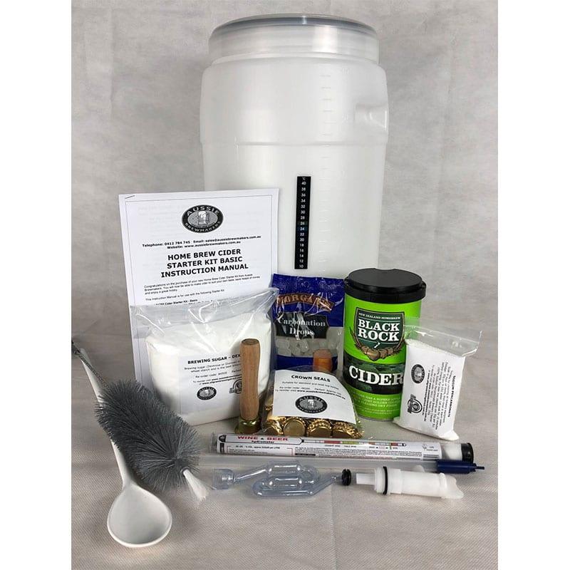 Home Brew Apple Cider Starter Kit - Basic - FREE FREIGHT Australia Wide