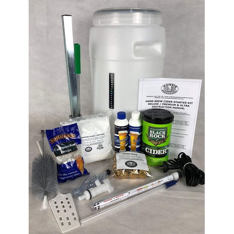 Home Brew Apple Cider Starter Kit - Premium - FREE FREIGHT Australia Wide