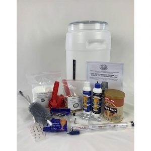 Home Brew Ginger Beer Starter Kit - Deluxe - FREE FREIGHT Australia Wide
