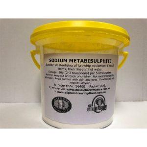 Sodium Metabisulphite - 800gTub