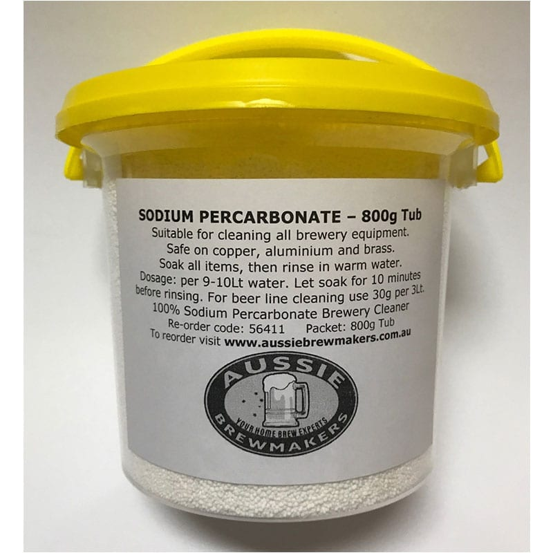 Sodium Percarbonate - Brewery Cleaner - 800g Tub