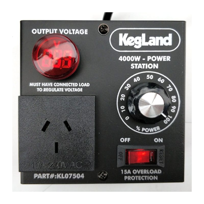 4000W Power Station 240V - Power Controller