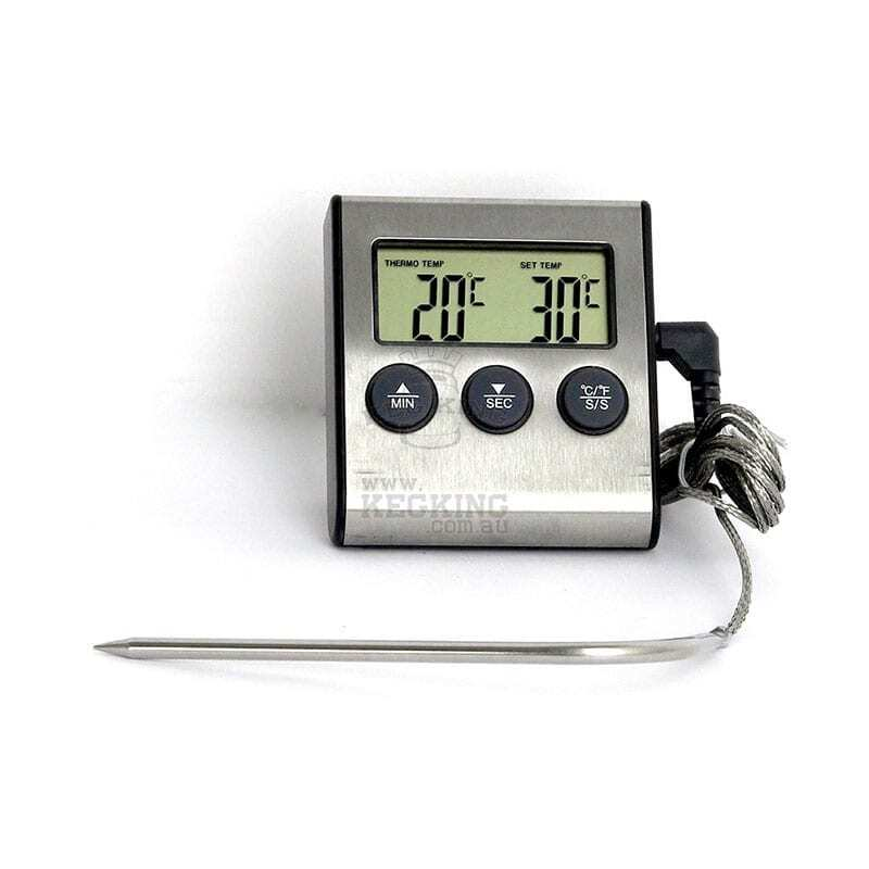 Digital Thermometer with Alarm / Oven Timer