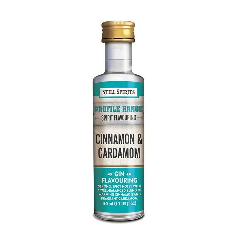 Cinnamon and Cardamom - Gin Flavouring Craft Kit