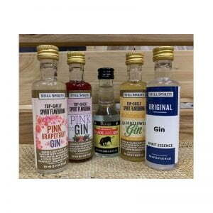 Gin Essence - Flavoured / Mixed - Try 5 Pack