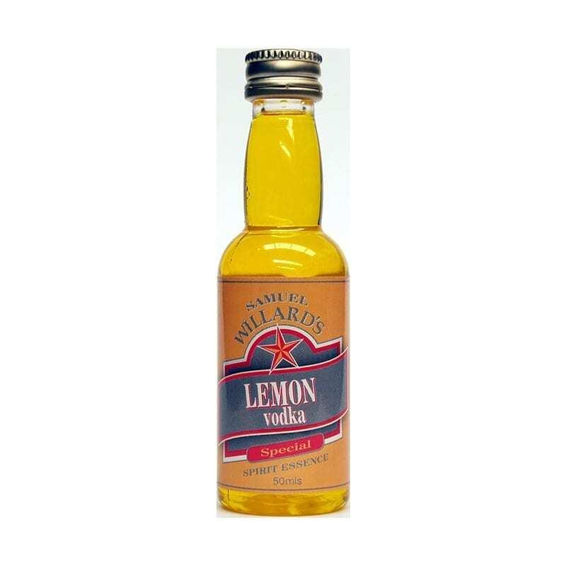 Samuel Willards Gold Star Lemon Vodka