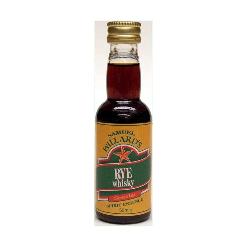 Samuel Willards Gold Star Rye Whisky