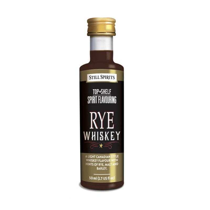 Top Shelf - Rye Whisky