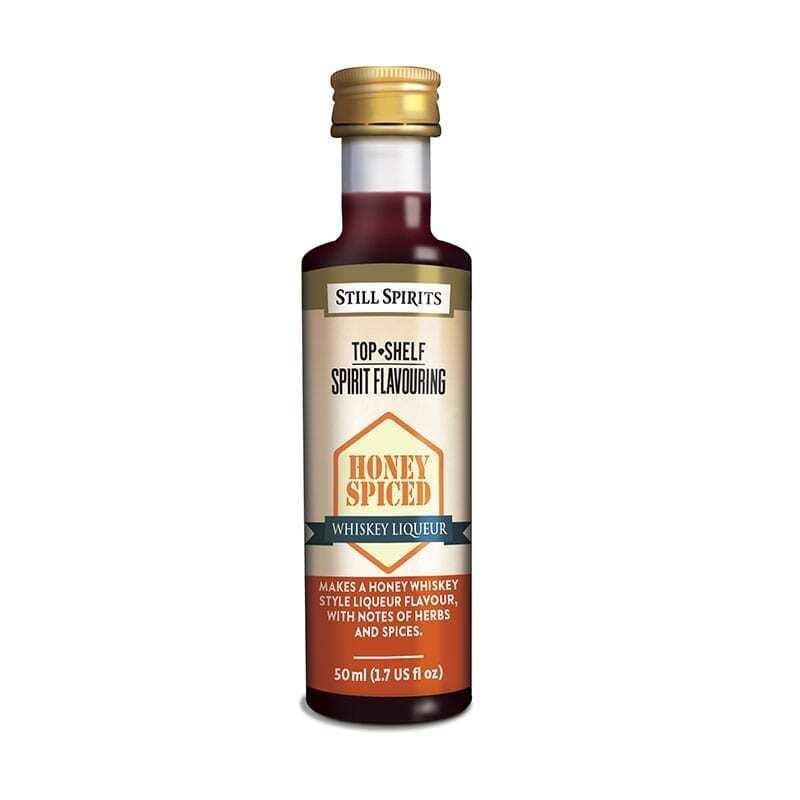 Top Shelf - Honey Spiced Whiskey Liqueur
