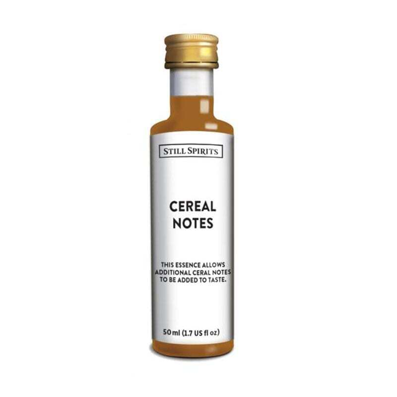 Top Shelf - Cereal Notes