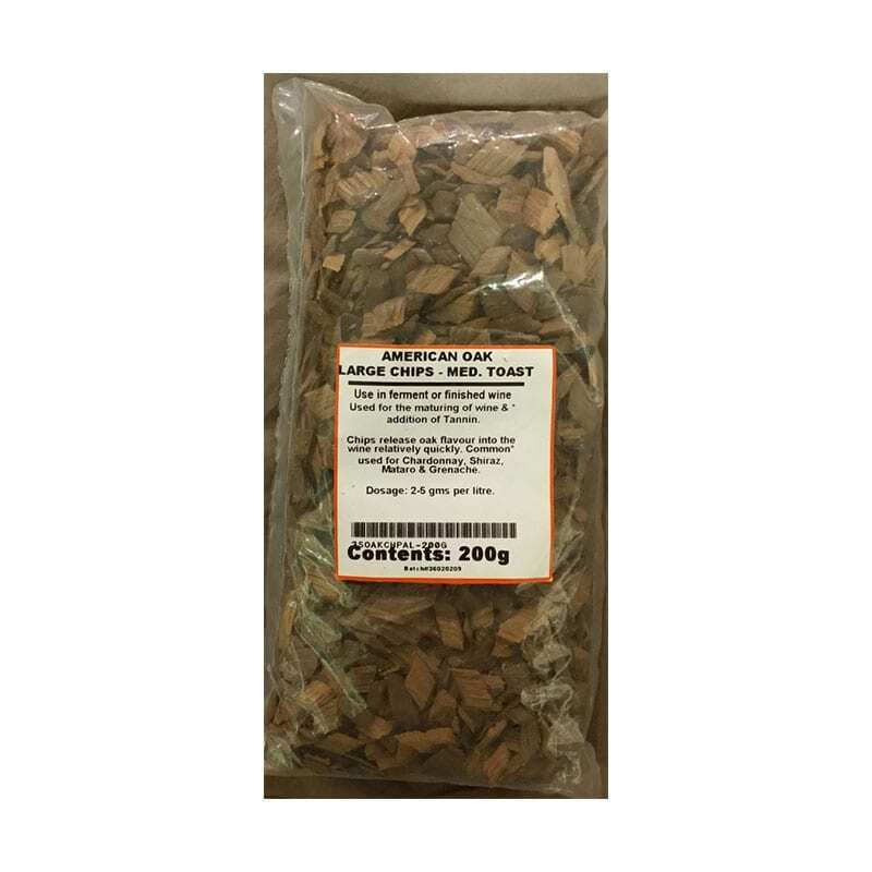 American Oak Chips Medium Toast - 200g