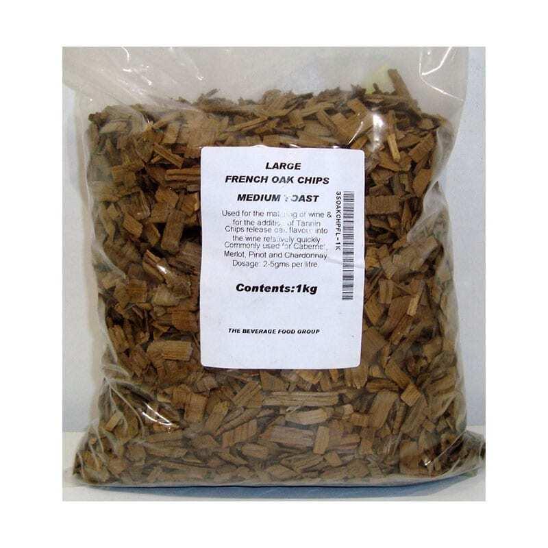 French Oak Chips Medium Toast - 1kg