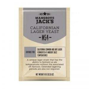 Mangrove Jacks Craft Series - M54 Californian Lager Yeast