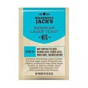 Mangrove Jacks Craft Series - M76 Bavarian Lager Yeast